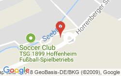 Map Of Germany Hoffenheim.Tsg 1899 Hoffenheim Address